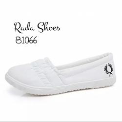 รองเท้าผ้าใบ Fred Perry หน้าจีบ ใส่ง่าย พื้นยางไม่ลื่น วัสดุ ผ้าCotton