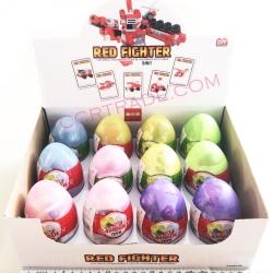 ไข่เลโก้สีหวาน รถดับเพลิงกล่อง 26.5 ซม.