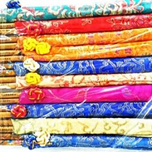 ตะเกียบถุงผ้าเกาหลี 10 คู่