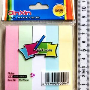 กระดาษโพสอิทสีพาสเทล 500 แผ่น (3x5 นิ้ว)