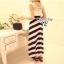 Cliona Made , Gala Lace Stripe Line Dress thumbnail 5