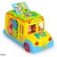 รถโรงเรียนแสนสนุก Intellectual School Bus by Huile toys ของแท้ ส่งฟรี thumbnail 4