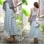 Lady Ribbon's Made Cool Summer Minimal Striped Maxi Dress thumbnail 4