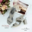 รองเท้าส้นสูงรัดข้อ ประดับหมุดทอง style VALENTINO thumbnail 4
