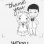 ตราปั๊มงานแต่ง WD001 thumbnail 1