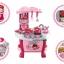 ชุดโต๊ะครัว little cheif สีชมพู ส่งฟรี thumbnail 4