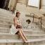 Flower & Leaf Glitter and Colors Jewel Furnish Premium Dress by Seoul Secret thumbnail 3