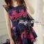 Lady Colourful Embroidered Mini Dress thumbnail 1