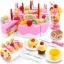 ชุดหั่นขนมเค้กและตกแต่งเค้ก DIY Fruit Cake 75 ชิ้น ส่งฟรี thumbnail 1