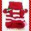 เสื้อสุนัข ไหมพรมคริสมาสต์ ขาว-แดง พร้อมส่ง thumbnail 2