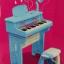 ชุดเปียโนพร้อมไมค์ ชาร์ทไฟบ้านได้ Electronic Organ ส่งฟรีพัสดุไปรษณีย์(PB)****พร้อมส่งสีฟ้า**** thumbnail 1