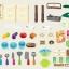 ครัวสีพาสเทล Pastel kitchen set น้ำไหลได้จริง ส่งฟรีพัสดุไปรษณีย์ thumbnail 8
