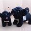 Pug Softy Toy - M BLACK thumbnail 1