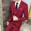 พร้อมส่ง ชุดสูทผู้ชาย สีแดง เสื้อสูท+เสื้อกั๊ก+กางเกง เข้าชุด สุดเท่ห์ thumbnail 1