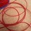 เชือกยางยืด 1 มม. ( ดำ-ขาว-แดง ) thumbnail 7