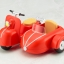 Pre-order Cu-poche:extra Motorcycle & Sidecar (Cherry Red) thumbnail 1