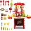โต๊ะครัว mini kitchecn + shopping cart 2 in 1 อุปกรณ์ 56 ชิ้น ส่งฟรี สีแดง thumbnail 2