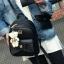 กระเป๋าเป้นำเข้า หนัง pu งานสวยหรู สินค้าคุณภาพ สายสะพายยาวปรับระดับได้ thumbnail 4