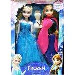 ตุ๊กตา Frozen (Elsa + Anna + Olaf)