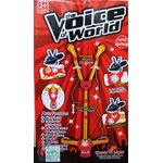 The Voice ไมโครโฟนคุ่ขาตั้ง (สีแดง)