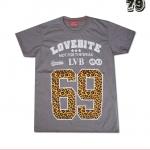 เสื้อยืดชาย Lovebite Size M - Lovebite 69