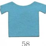 ผ้ายืดคอตตอน 100% สีฟ้ากลางใส แบ่งขาย สั่งจำนวนน้อยกว่า 10 โล