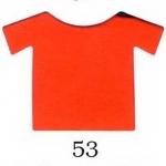 ผ้ายืดคอตตอน 100% สีส้มสด แบ่งขาย สั่งจำนวนน้อยกว่า 10 โล