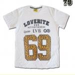 เสื้อยืดชาย Lovebite Size L - Lovebite 69