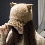 หมวกขนสัตว์ มีหู