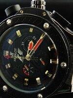 นาฬิกา Hublot F-1 King Power หน้าดำ ระบบ Automatic งาน AAA สวยขั้นแทพ หายากระบบจริงทั้งหมด