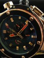 นาฬิกา Hublot F-1 King Power หน้าทอง ระบบ Automatic งาน AAA สวยขั้นแทพ หายากระบบจริงทั้งหมด