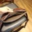 พร้อมส่ง กระเป๋าคาดอก กระเป๋าคาดเอว หนังสีน้ำตาลเรียบ ใส่ของได้เยอะ ใส่ไอแพดมินิได้ กระเป๋าแฟชั่น thumbnail 5