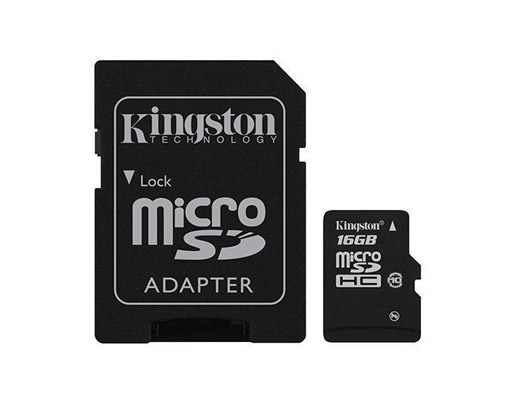ขาย Micro SD ยี่ห้อ Kingston ความจุ 16GB Class 4
