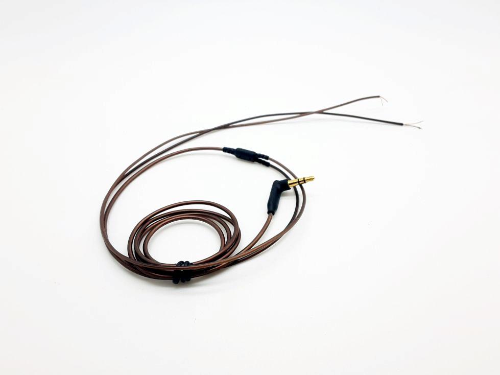 สายไฟสำหรับหูฟังแบบมาตรฐาน ทองแดง 56แกน [1แพค 10เส้น]