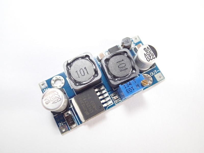 DC Buck-Boost Converter [3-35V to 1.25V-30V] 2A 20W