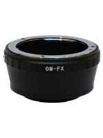 OM-FX Lens Mount Adapter Olympus OM Lens to Fuji Fujifilm X Series Camera