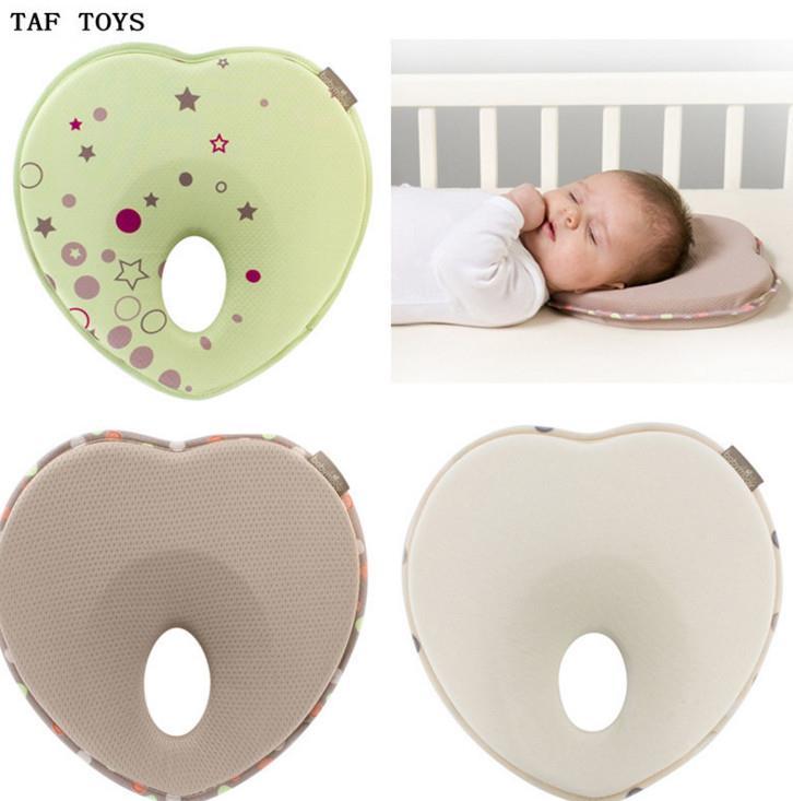 หมอนหลุมสำหรับเด็กทารก Lovenest เขียว / เหลืองอ่อน / น้ำตาล