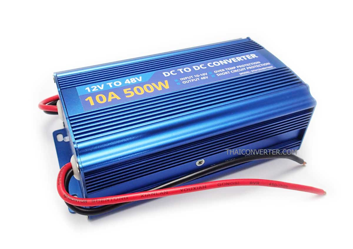 DC Step-Up 12V to 48V 10A 500W Fix Voltage