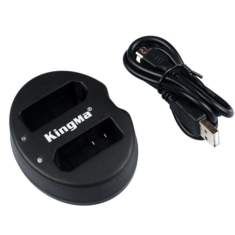 Kingma Nikon EN-EL14 EN-EL14a USB Dual Battery Charger แท่นชาร์จแบ็ตเตอรี่ นิคอน