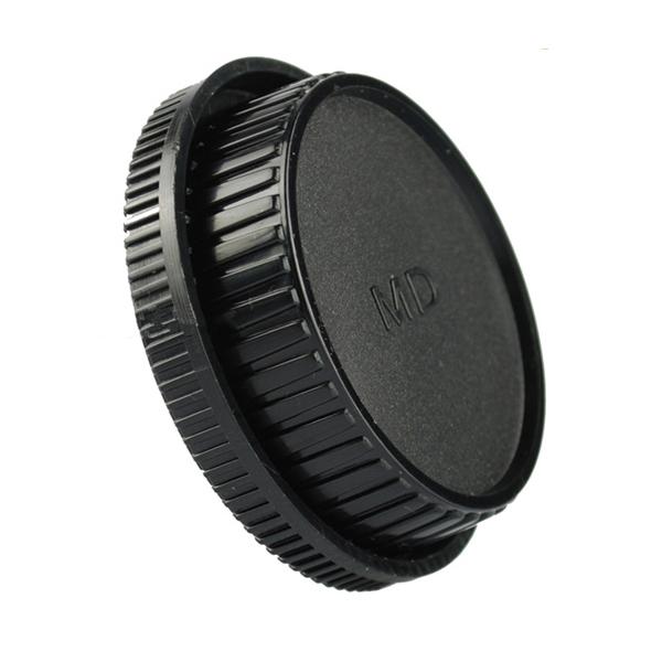 Minolta SR MD MC Mount Rear Lens Cap ฝาปิดท้ายเลนส์ + Body Cap ฝาปิดบอดี้