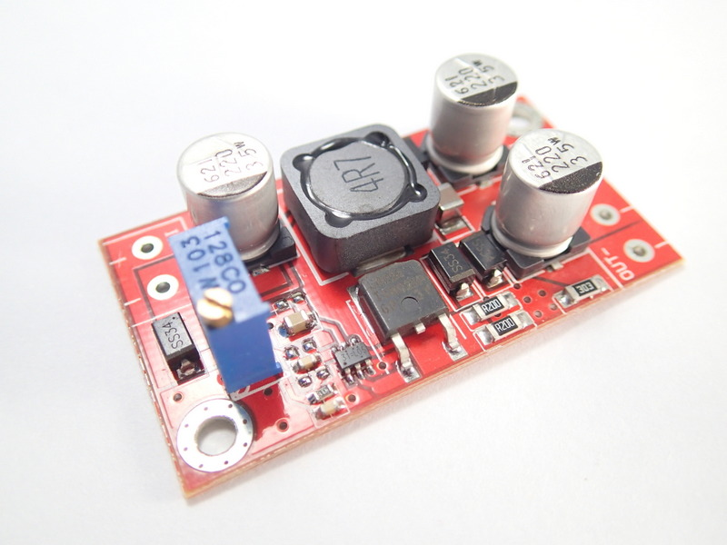 Dual Source DC Step-Up [3-6V to 5-30V] 300mA