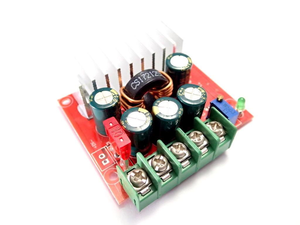 DC Buck-Boost Converter [4-32V to 0.8-32V] 8A 100W