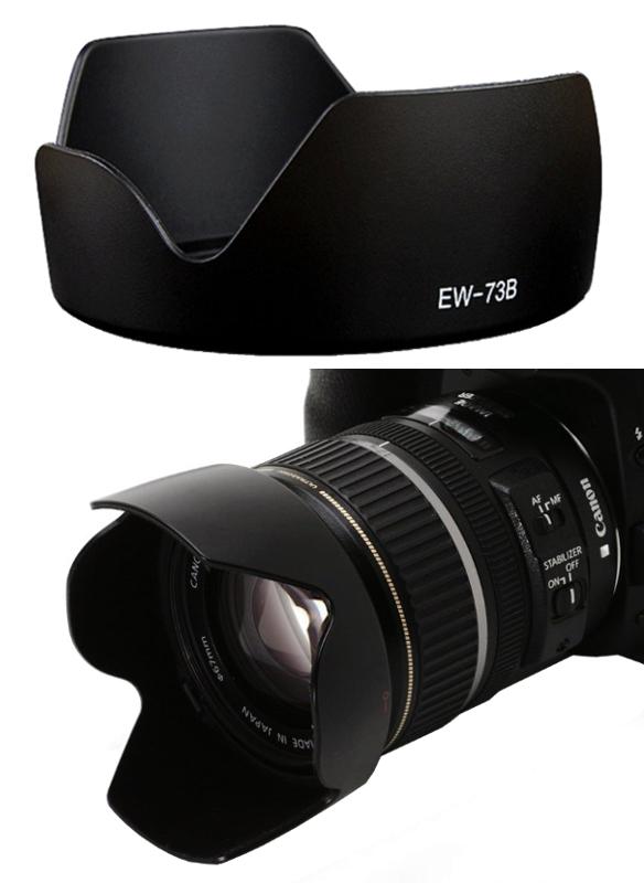 Canon Lens Hood EW-73B for EF-S 18-135mm f/3.5-5.6 IS STM, EF-S 17-85mm f/4-5.6 IS USM