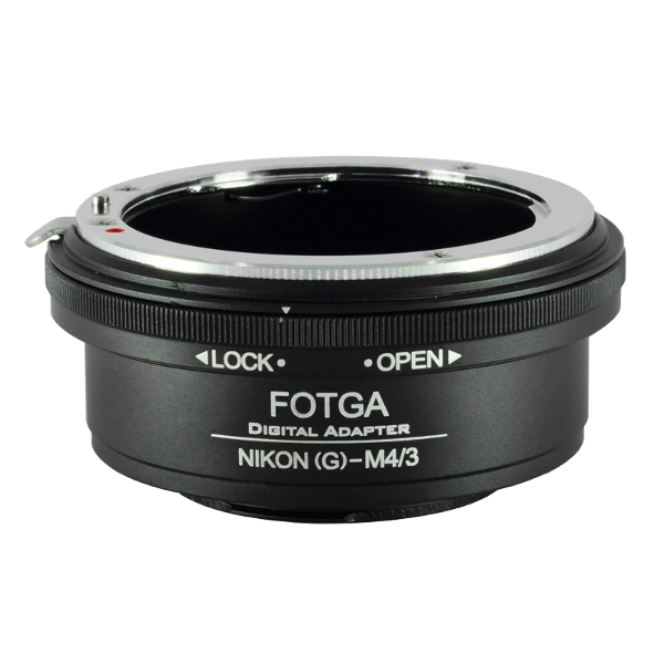 Nikon(G)-M4/3 Fotga Mount Adapter ปรับรูรับแสงได้ Nikon G AI AIs F(non-AI) AF Mount Lens to Olympus Panasonic MFT Camera