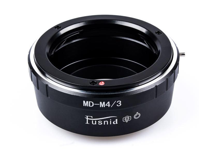 MD-M4/3 Mount Adapter Minolta MD MC SR Lens to Olympus Panasonic M4/3 Camera
