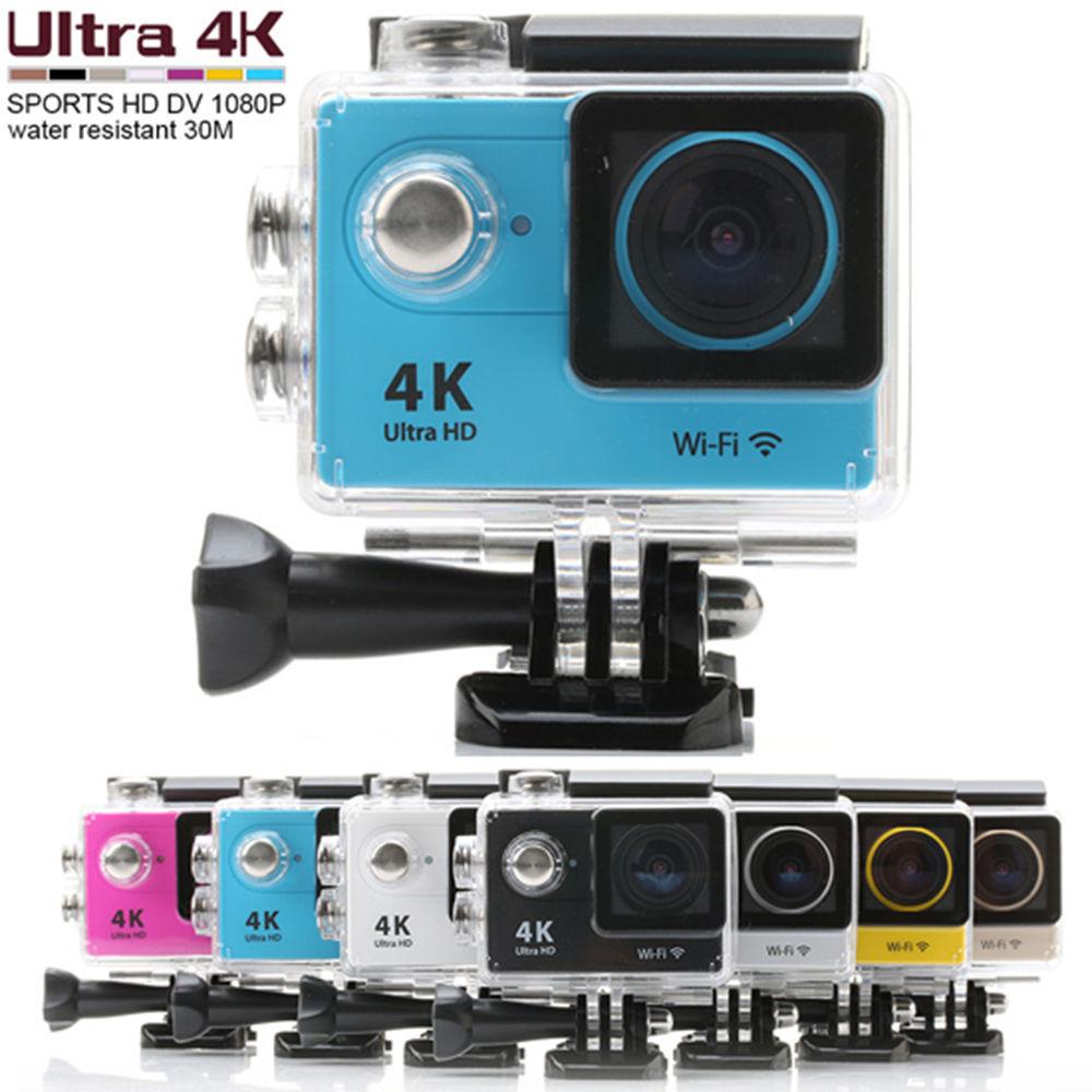 กล้องติดหมวก 4K WIFI