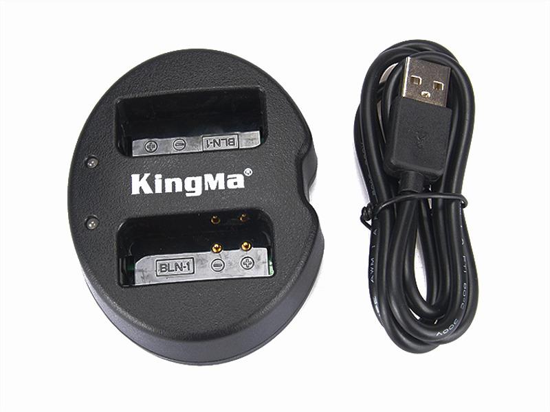 Kingma Olympus BLN-1 USB Dual Battery Charger แท่นชาร์จแบ็ตเตอรี่ โอลิมปัส