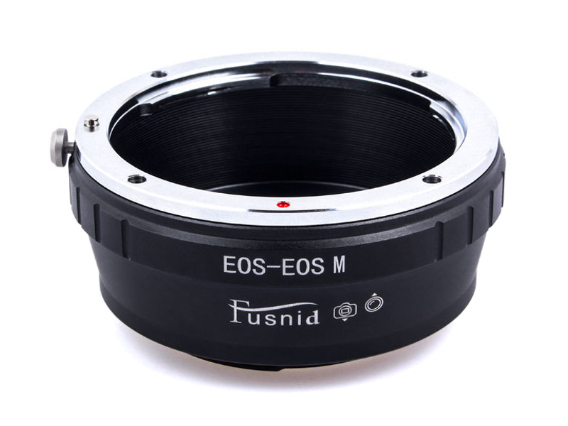 EOS-EOSM Mount Adapter Canon EOS EF EF-S Lens to Canon EOS M EF-M Mount Camera