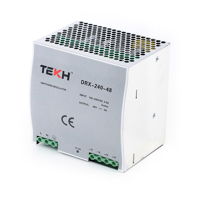 TEKH™ หม้อแปลง สวิทชิ่ง แบบยึดราง DIN 48V 5A 240W