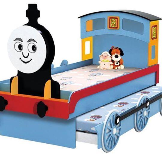 เตียงหัวรถจักรแบบไสลด์ได้2ชั้น ( Train slide bed)